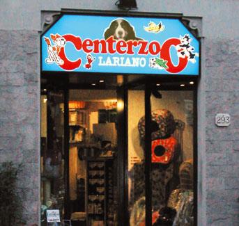 Centerzoo a Como, via Bellinzona
