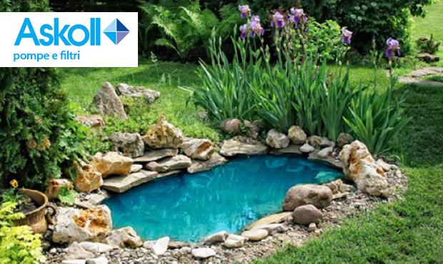 Askoll pompe e filtri per laghetto for Pompe per laghetti da giardino