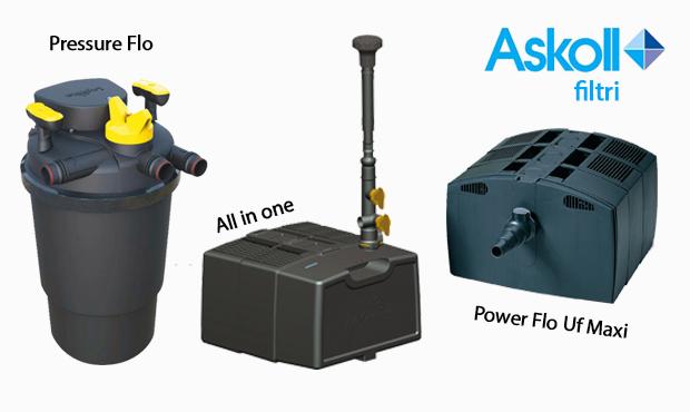 Askoll pompe e filtri per laghetto for Pompe e filtri per laghetti artificiali