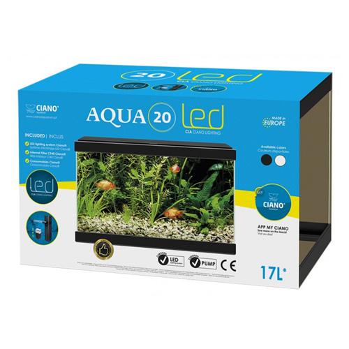 askoll-ciano-aqua-20-nero-acquario-17-litri-con-filtro-e-luce-a-led